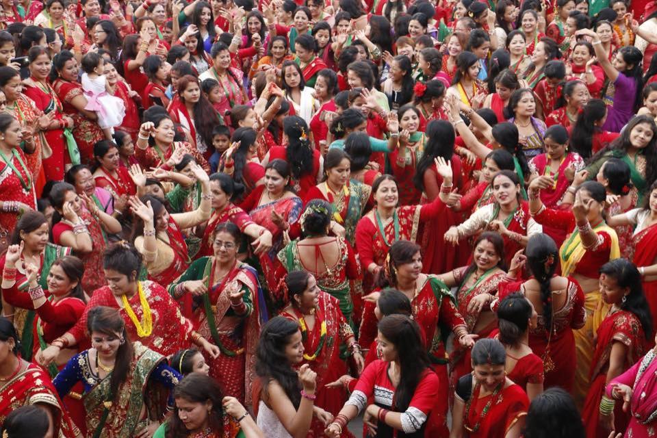 Women Festival in Nepal  ( Teej )