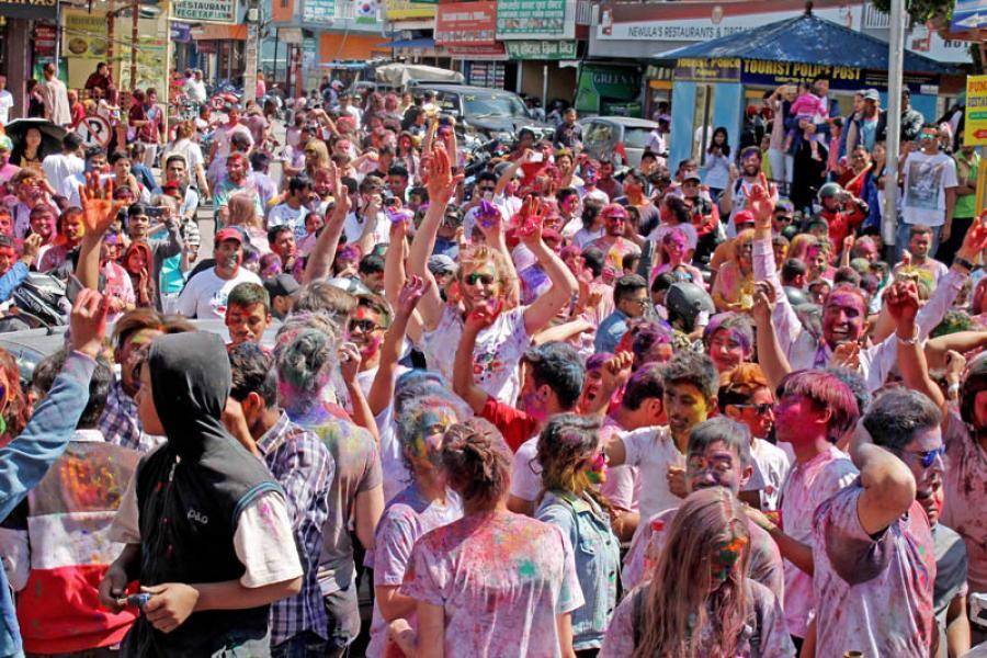 Festivals of Nepal - Holi