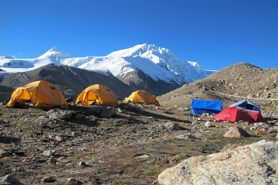 Tibet Shishapangma Expedition