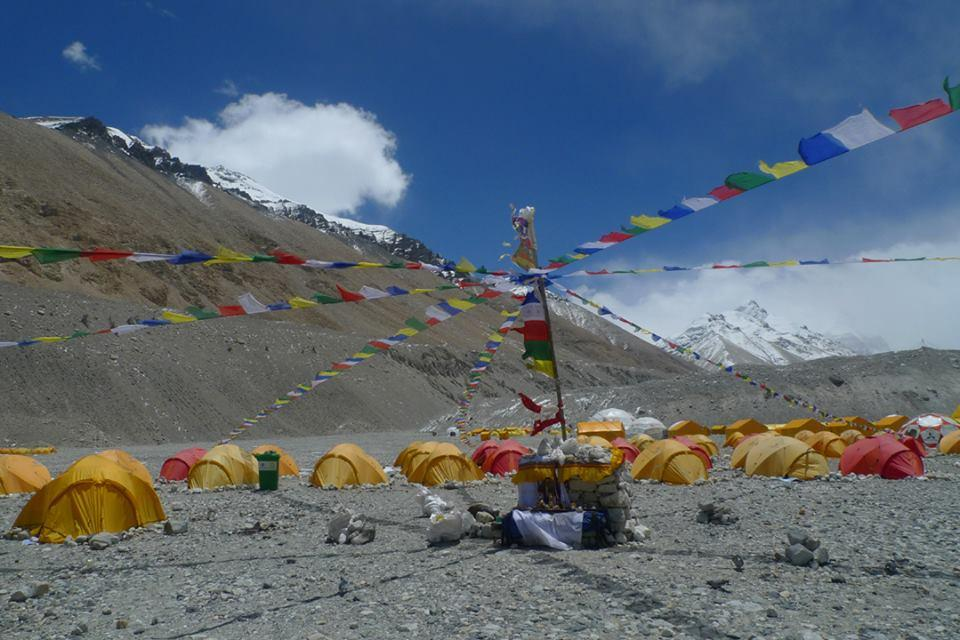 Tibet Lhakpa Ri Expedition