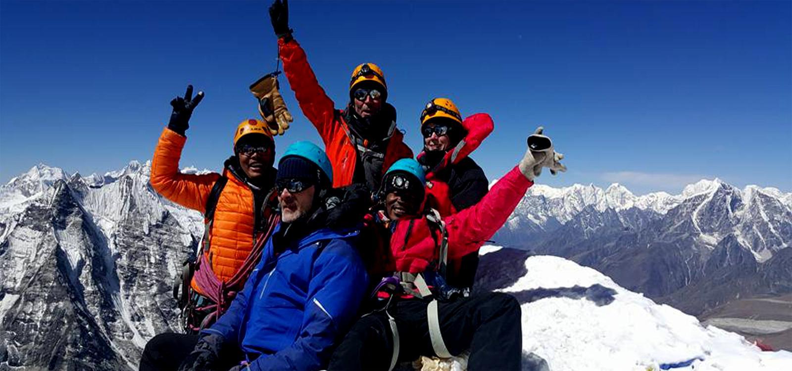 Lobuche East & Island Peak climbing